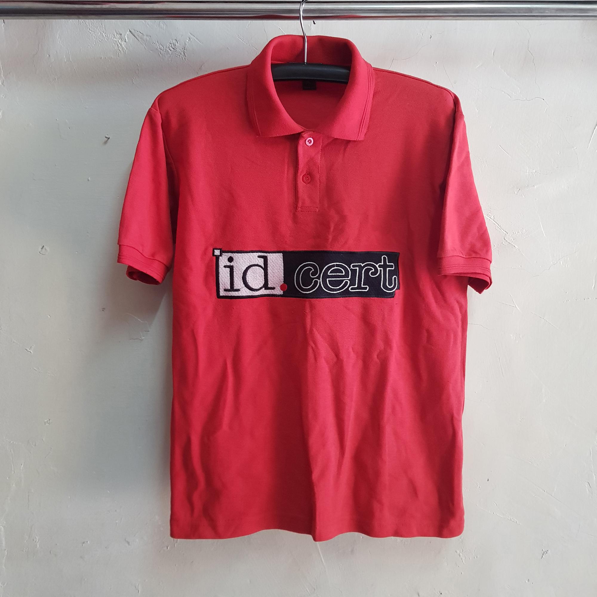 Poloshirt Lacoste CVC, Seragam Id Cert