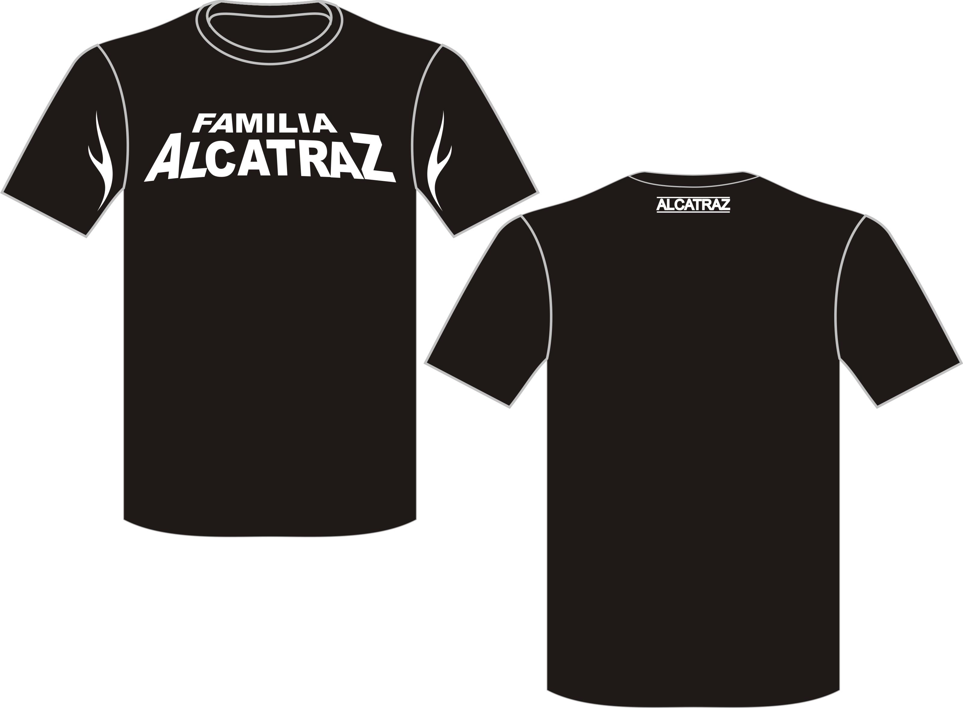 Kaos Seragam Alcatraz