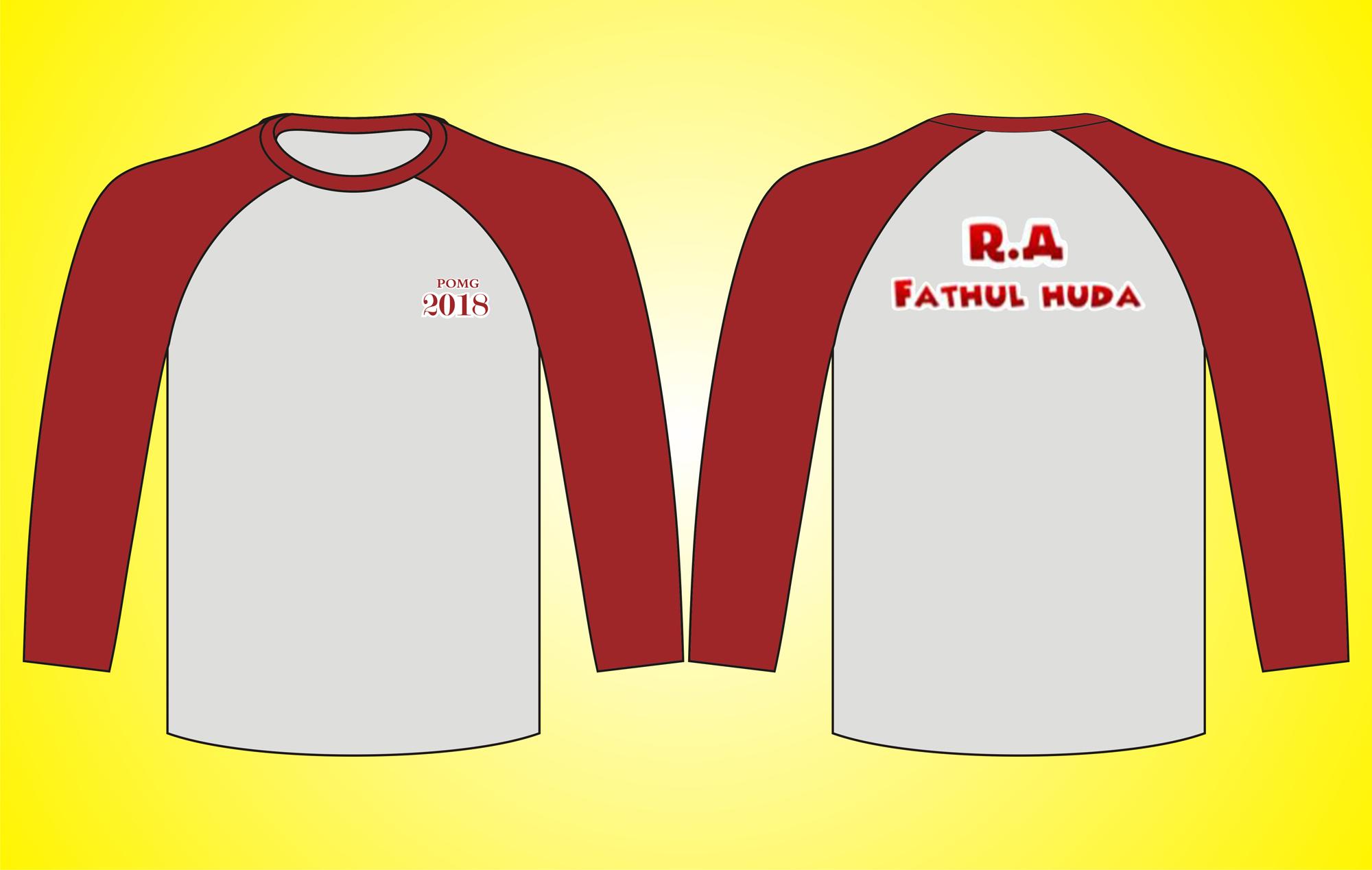 Seragam T-Shirt Raglan