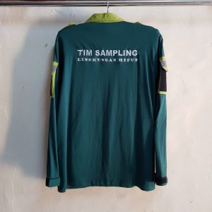 Seragam Kaos Kerah LHK, T-Shirt Aplikasi