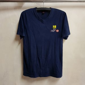 Seragam Kaos V Neck Cotton Combad, PU