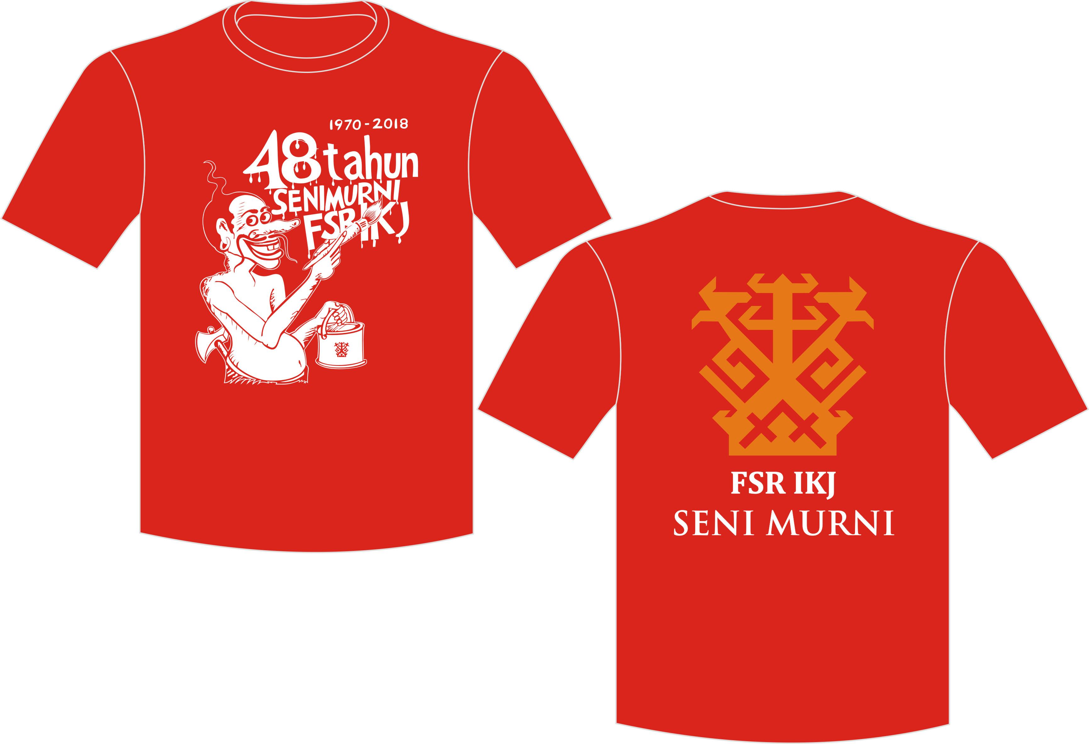 Seragam Kaos Merah