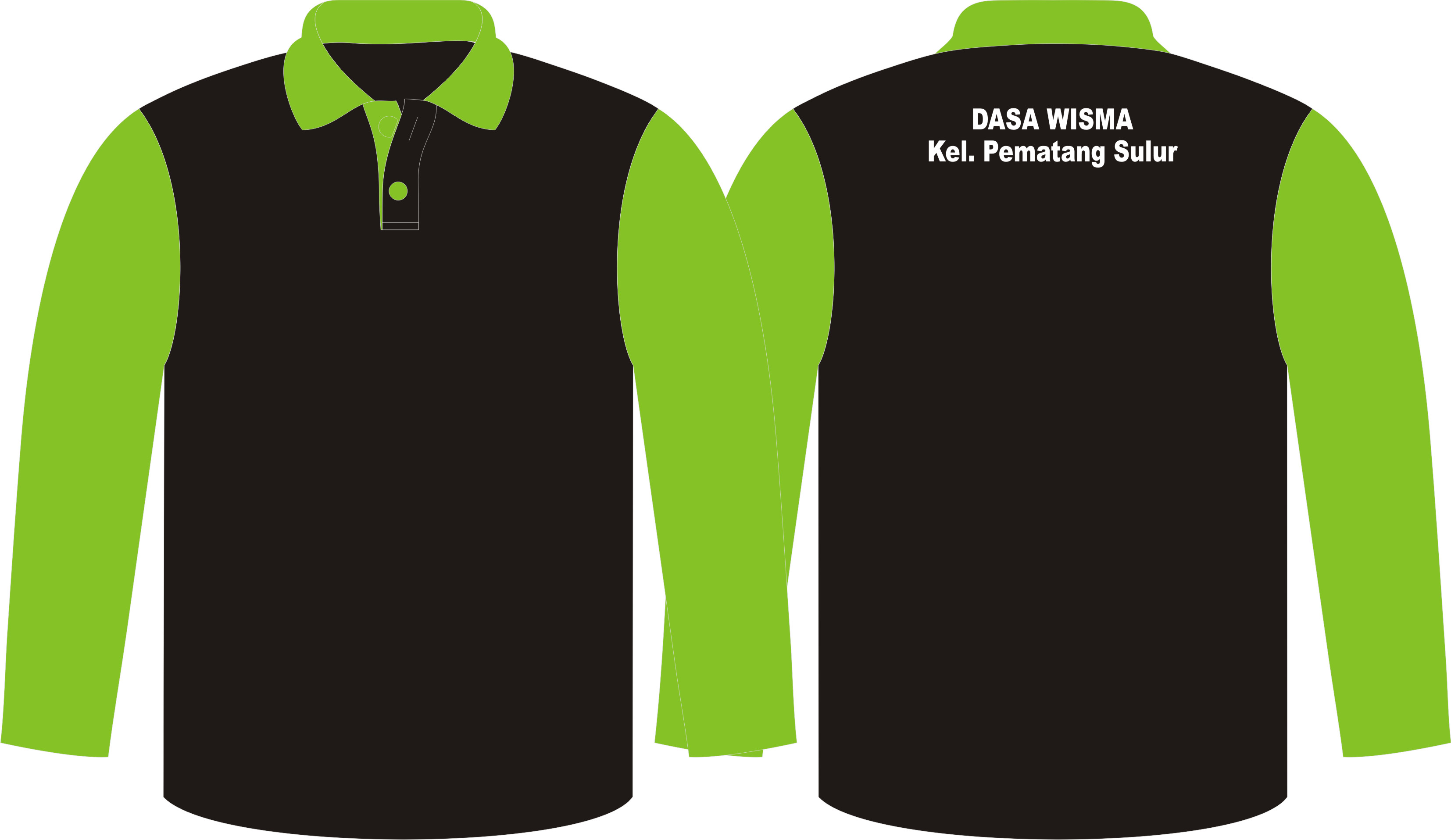 Seragam Dasa Wisma, Poloshirt dan Training