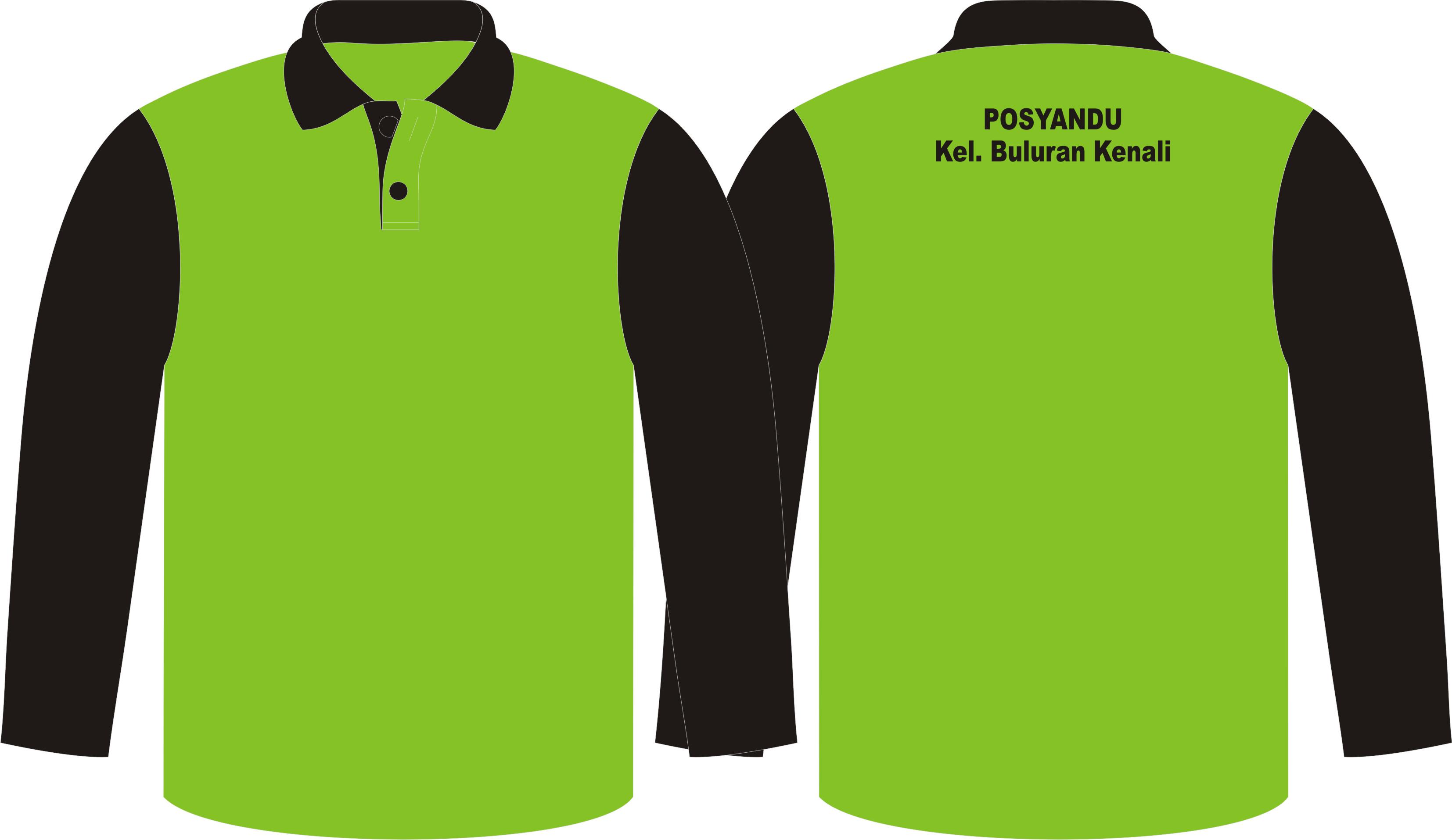 Seragam Posyandu, Poloshirt & Training