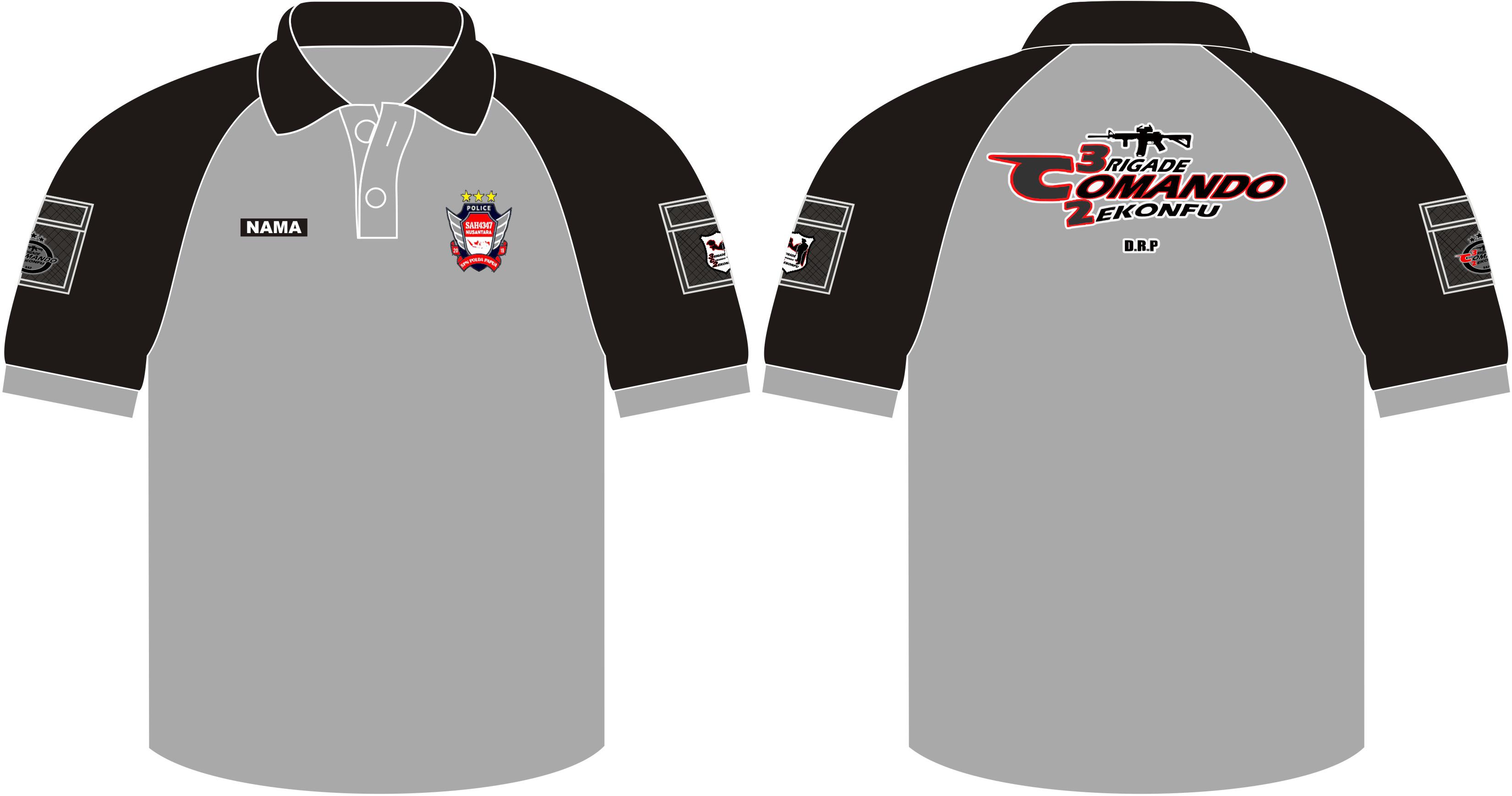 Kaos Kerah Tactical 3C2, Seragam Poloshirt