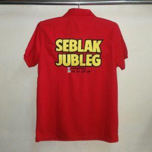Poloshirt Seblak, Kaos Kerah Lengan Pendek