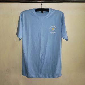 Kaos Cotton Baby Blue, Seragam Kaos Oblong