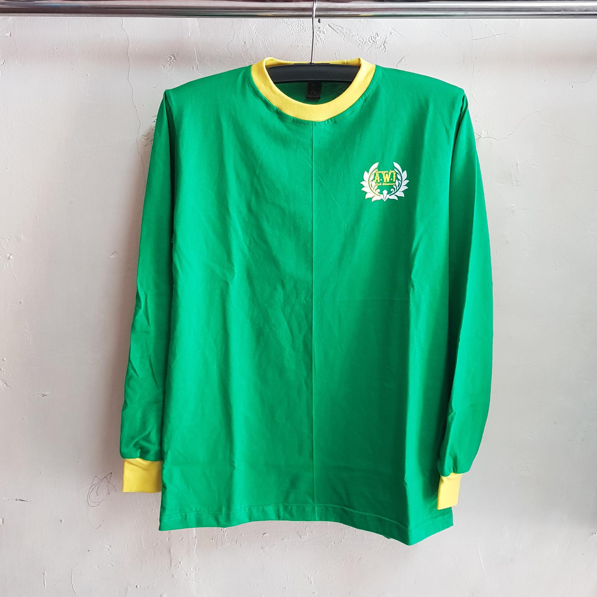 Kaos Cotton Lengan Panjang, Seragam Oblong