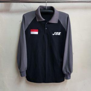 Seragam Poloshirt Raglan JSE, Kaos Kerah Lacoste