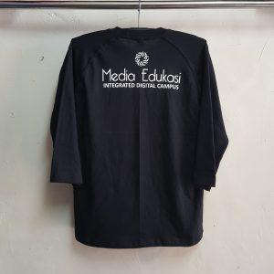 Seragam Oblong Raglan 3/4, Kaos Cotton Combad