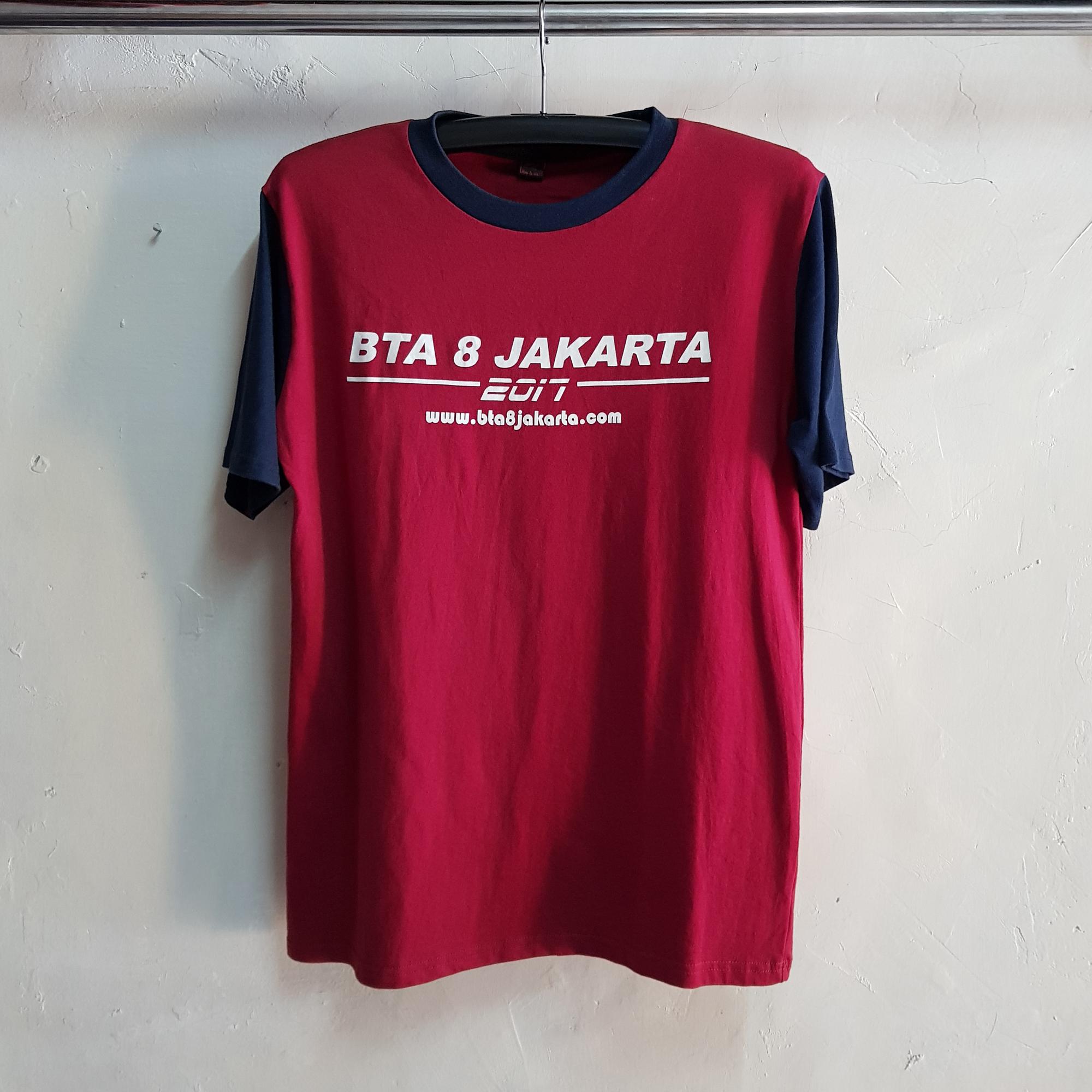 Seragam Kaos Kelas BTA8, T-Shirt College