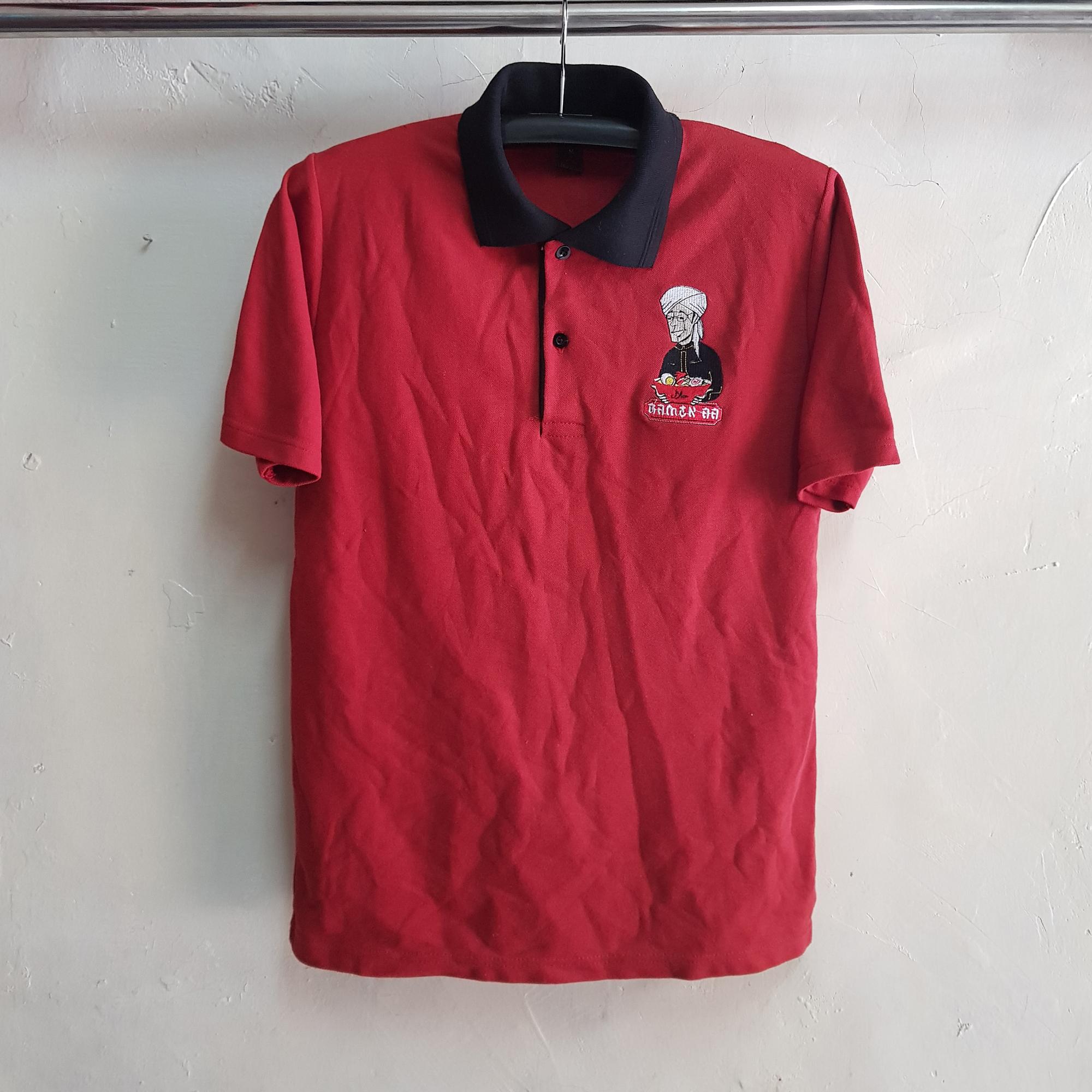 Kaos Kerah Lacoste Cotton, Poloshirt Ramen Aa