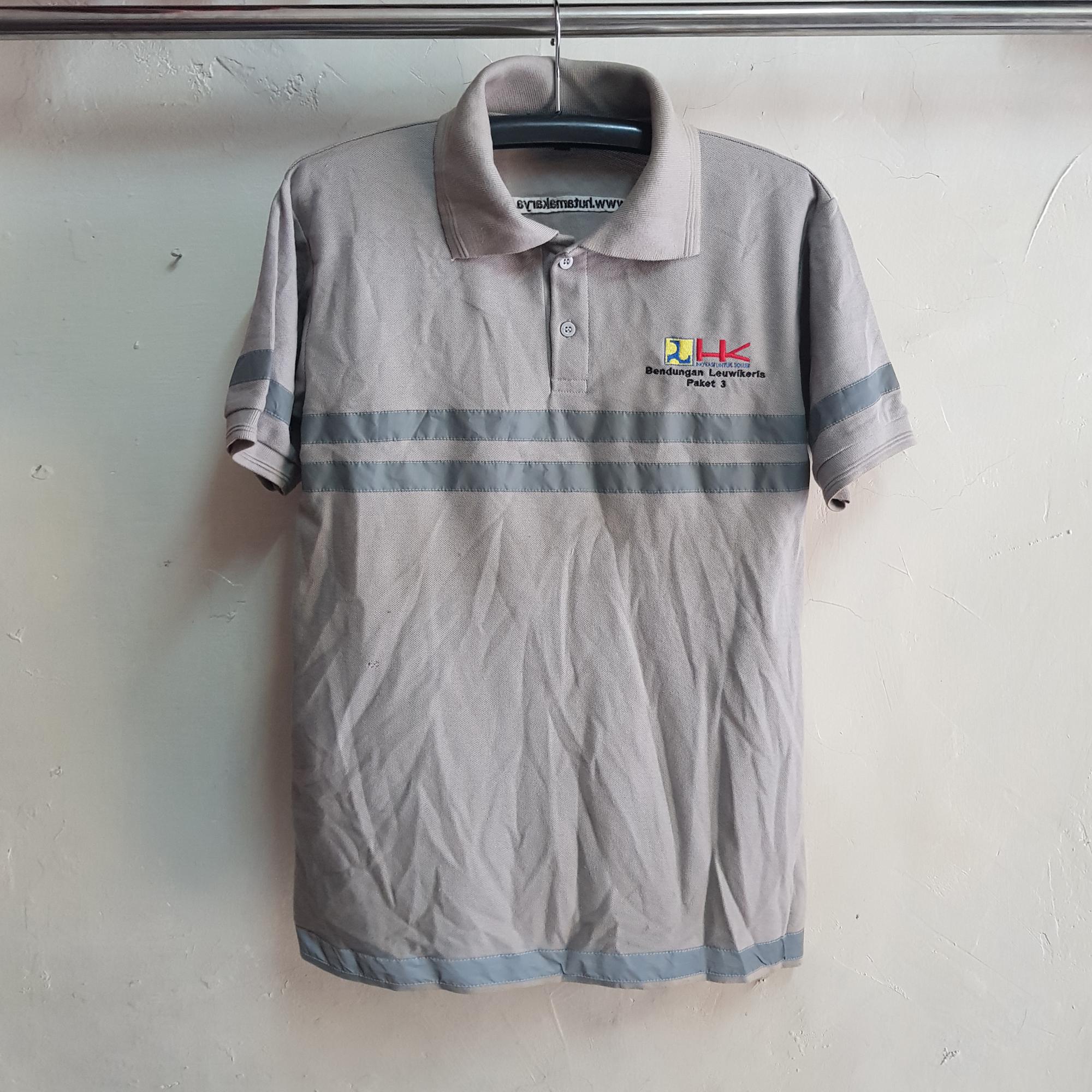 Poloshirt Safety PU, Seragam Kaos Kerah