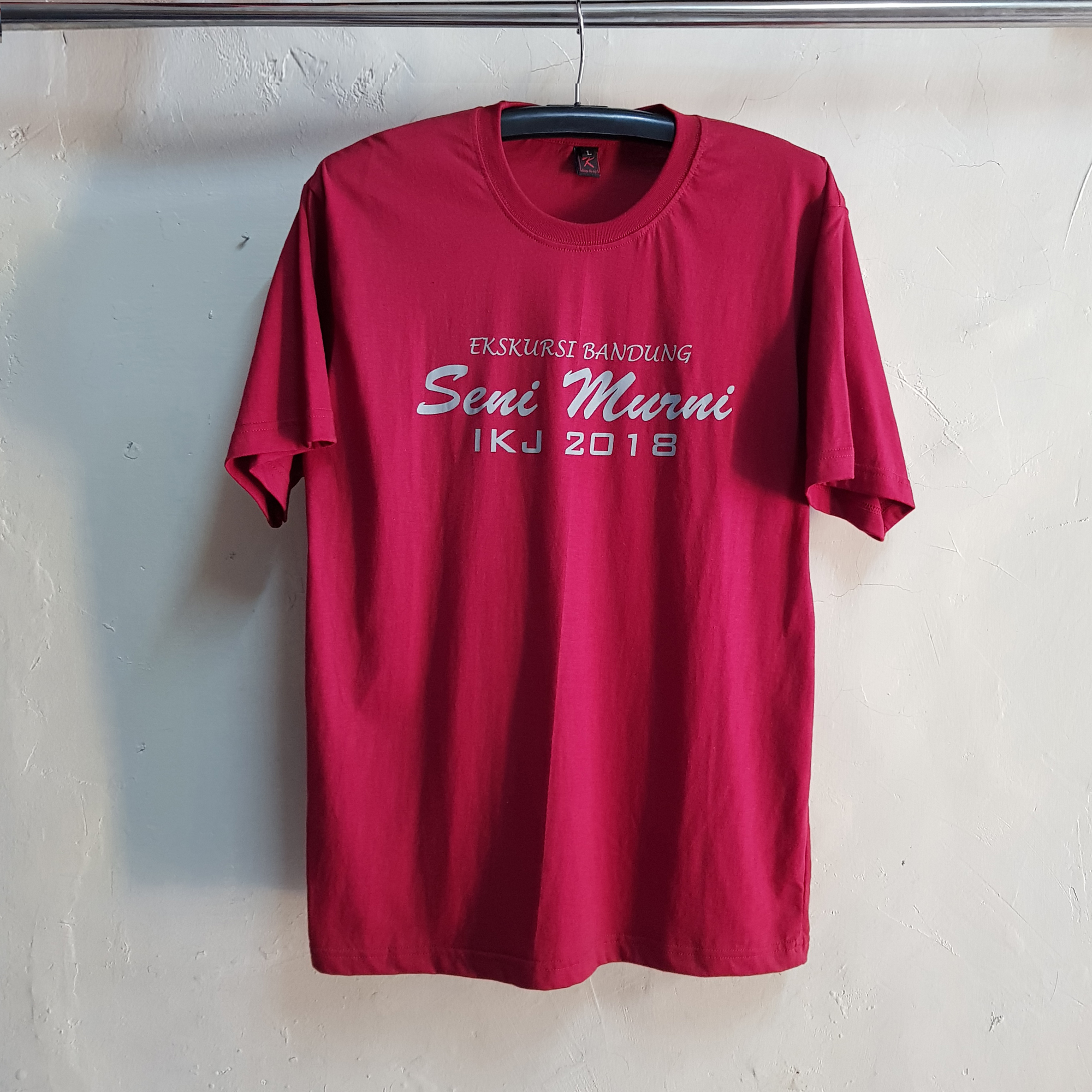 Seragam Kaos Seni Murni IKJ, T-Shirt O-Neck