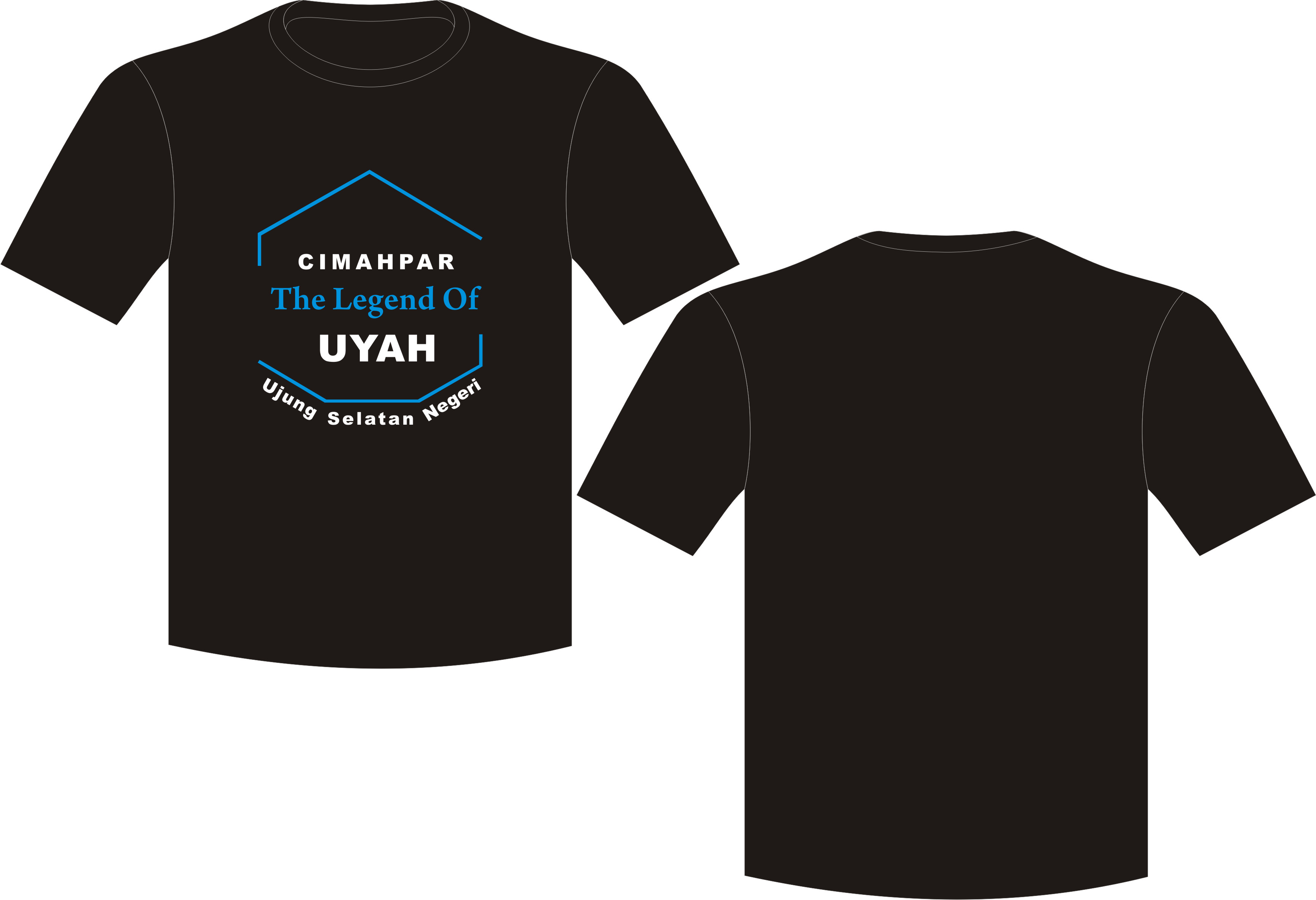 Seragam Kaos Uyah, T-Shirt Oblong