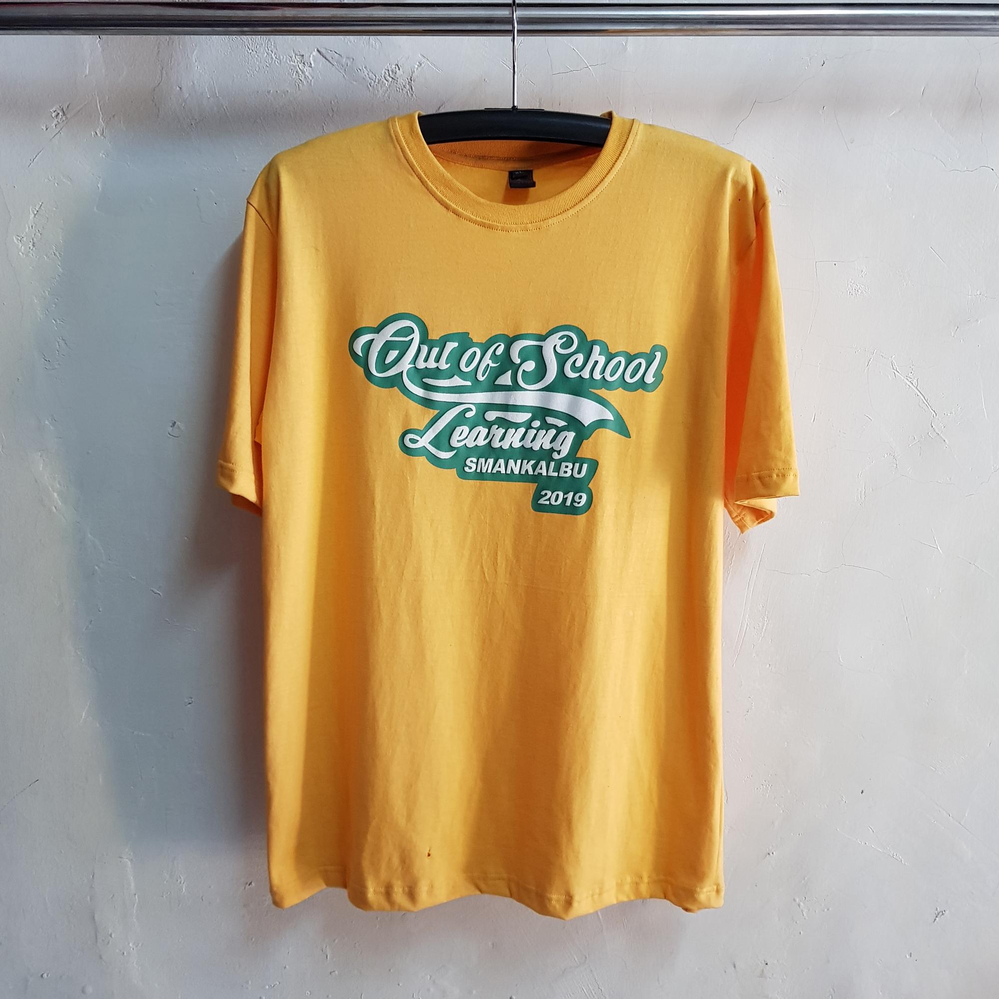 Seragam Kaos SMANKALBU, T-Shirt Oblong