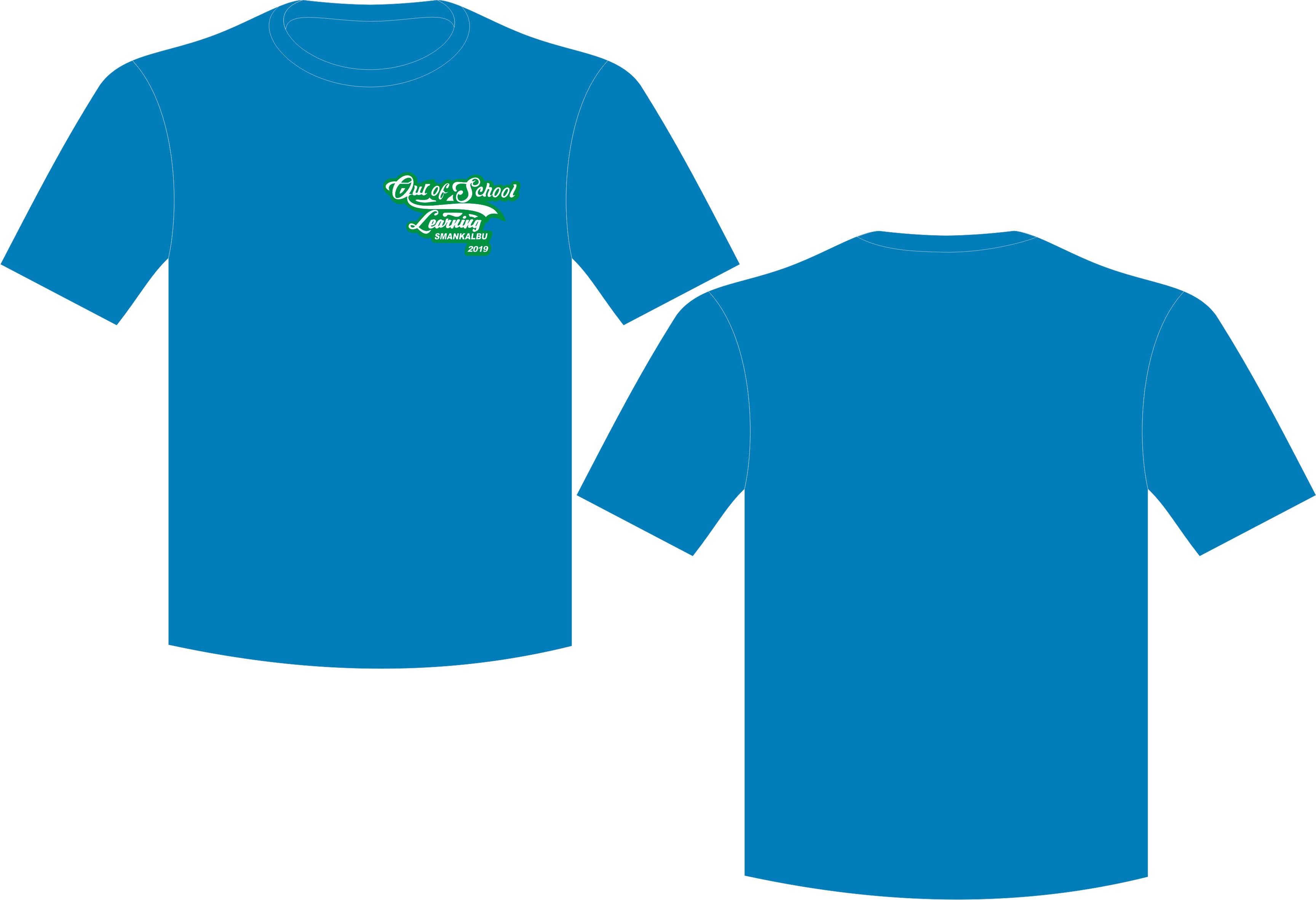 Kaos SMANKALBU 2, T-Shirt Oblong