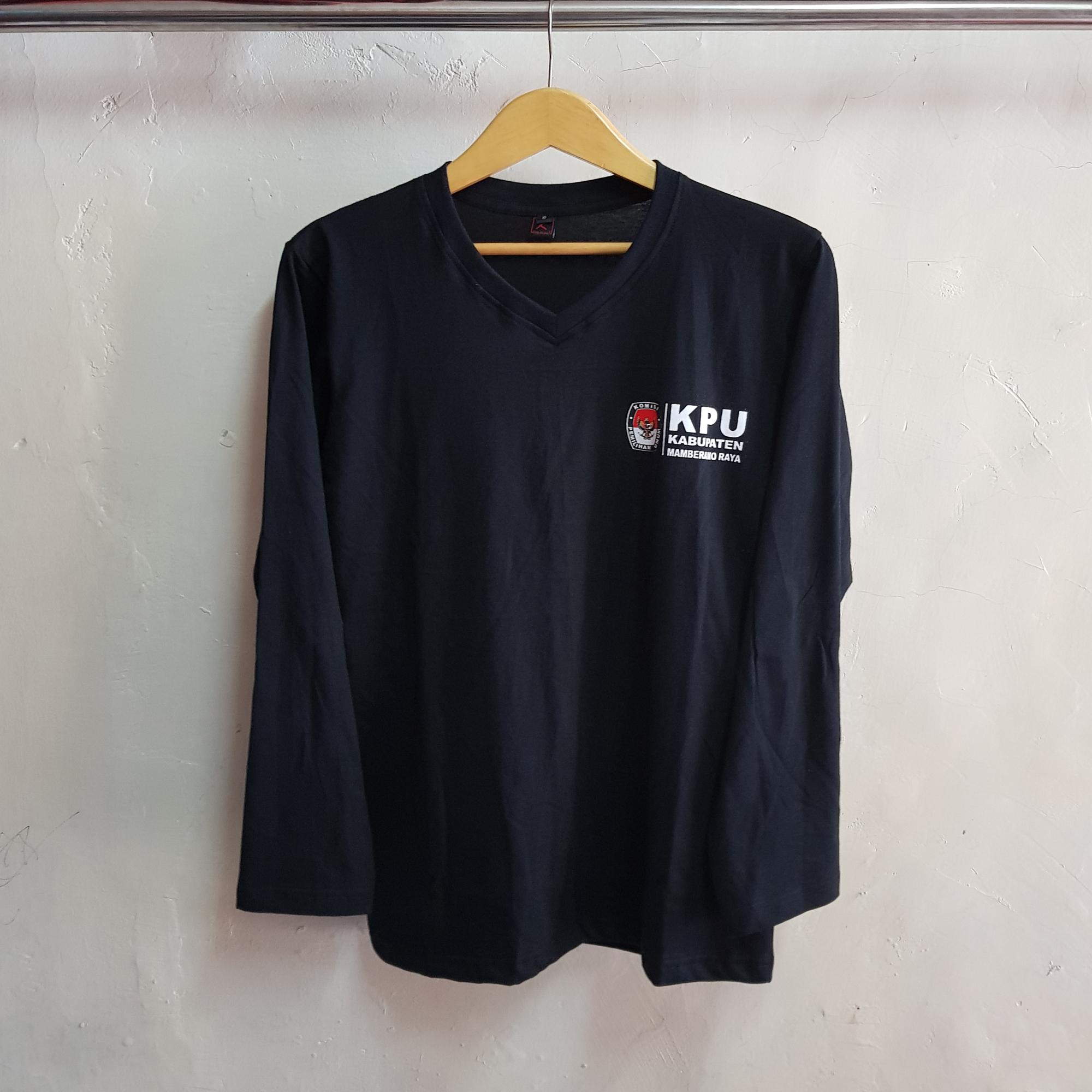 Seragam Kaos KPU, Kaos Oblong V Neck